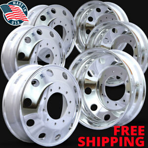 Set Of 6 763297 19 5 X 6 Dodge Ram 4500 5500 Alcoa Wheels new Wheel
