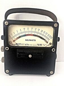 Weston Electrical Voltmeter Ammeter Model 432 No 14600