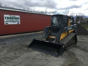 2011 John Deere 333d Tracked Skid Steer W Cab Loaded W Options