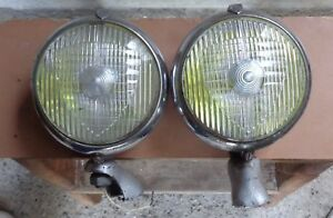 Marchal 670 Genuine Oldtimer Fog Lamps Lights Vintage Rare