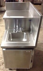 Commercial Restaurant Sink 1 Bay Stainless Steel With Faucet