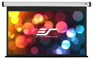 Elite Screens Home2 Electric motorized Projection Screen 16 9 Aspect Ratio 90in
