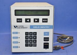 1 Used Unitek Equipment 3 129 02 Weld Sentry Welder Controller 15500