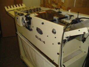 Used Thermotype Gls 4 Business Card Slitter