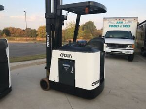 2000 Crown 3000 Pound Forklift we Will Ship Budget Buy nice Lift For The l k
