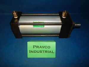 Speedaire 6x396 Pneumatic Air Double Acting Cylinder 6 stroke 3 1 4 3 25 Bore