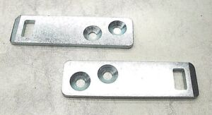 61 62 63 Ford Truck F100 Unibody Tailgate Latch Plate Pair New