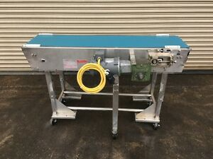 Portec 14 X 60 Long Stainless Food Conveyor Bottling Conveying