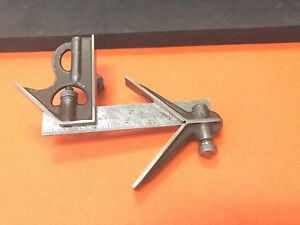 Lufkin Rule Co 4 Inch Long Blade Combination Square With Square