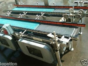 2 14 X 80 L Stainless Case Metering Conveyors