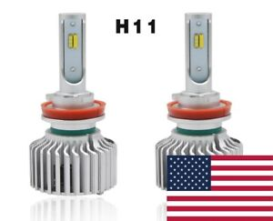 2018 Tri Color Switch Back Led Headlight Kit H11 H8 6000k 3000k 4500k Strobe
