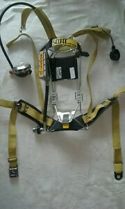 Scott 2 2 Air Pack 2216 Scba Air Pak Respirator Breathing mint Condition