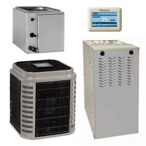 2 Ton 17 Seer 96 afue 80k Btu Airquest By Carrier Ac heat System