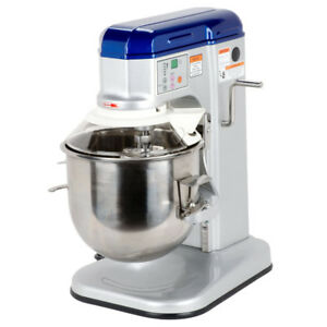 New Vollrath 10 Qt Commercial Countertop Dough Mixer With Guard 1 3 Hp