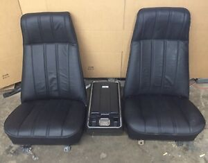1973 1987 Gmc Chevy Truck Bucket Seats And Console Chevrolet