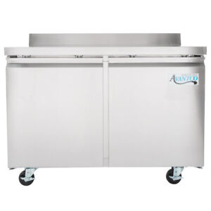 New 48 Two Door Worktop Refrigerator With 3 1 2 Backsplash