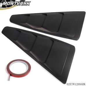 For 2005 2014 Ford Mustang Gt 1 4 Quarter Side Window Louver Cover