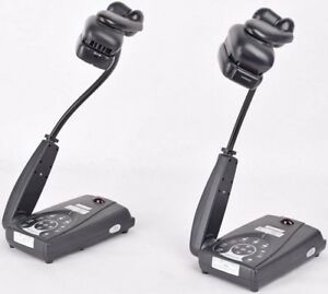 Lot Of 2 Avermedia Avervision130 Portable Gooseneck Document Camera Projector