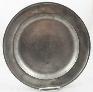 18c German Pewter Charger 5