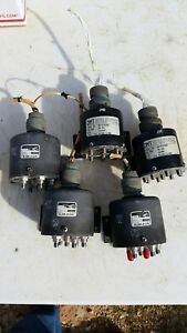 5 Sma Rf Coaxial Transmission Switches 1p5t Transco 135c71300 Dmt N8 4290902
