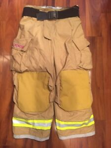 Firefighter Turnout Bunker Pants Globe 42x28 G Extreme Costume 2006