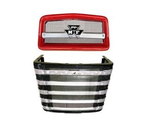 Complete Front Nose Cone Front Grille Massey Ferguson Mf150 Mf165 Mf175