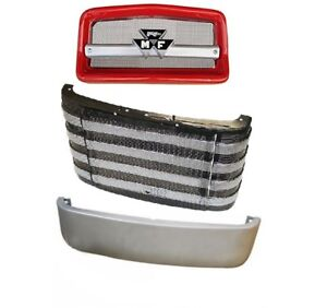 Complete Front Nose Cone Front Grille Pan Massey Ferguson Mf 135 20 2135
