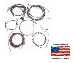 Complete Wiring Harness Ford 2000 3000 4000 3 Cylinder Gas Tractor Generator