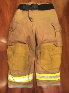 Firefighter Turnout Bunker Pants Globe 38x28 G Extreme Costume 2006