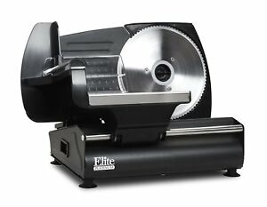 Electric Meat Slicer Heavy Steel Deli Cheese Cut Food Slicer Restaurant Cuchillo