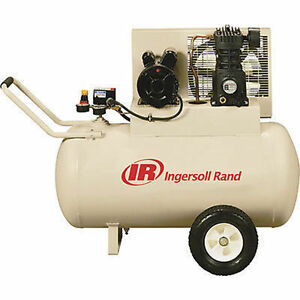 Air Compressor Commercial Ingersoll Rand 30 Gallon 2 Hp 110 115v