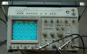 Tektronix 2465dvs Ct 300 Mhz Oscilloscope Gpib Calibrated Sn B050348