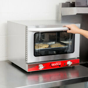 Avantco 1 4 Size Commercial Electric Convection Oven Countertop Pizza Restaurant