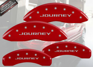 2012 2018 Dodge Journey Front Rear Red Mgp Brake Disc Caliper Covers Bre 4pc