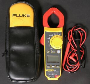 Fluke 319 True Rms Digital Clamp Meter Tester With Case