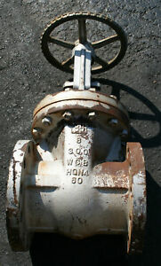 8 Williams Flanged Gate Valve Class 300 30f2 Used