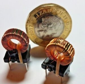 2 X Current transformers 12 7mh 30 coils Windings toroid
