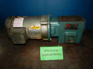 Baldor Vm3542 1 4 75 hp Motor With Dodge Tigear Mr94752 r tx Gearbox