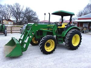 Nice 2004 John Deere 5320 4x4 Tractor Loader Can Ship 1 85 Mile
