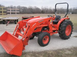 Kubota Mx 5100 2wd Syncro Shuttle Tractor With L4844 Loader