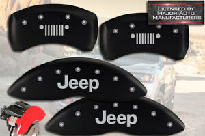 2007 2018 Jeep Compass Patriot Front Rear Matte Mgp Brake Caliper Covers Grill