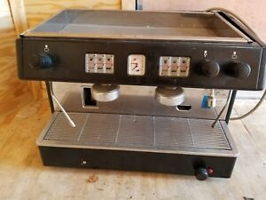 Brasilia Portofino Espresso Coffee Professional Machine 2 Group