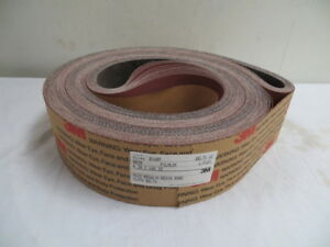4 X 168 3m Resin Cloth Sanding Belts 80 Grit U s a New 12 Pcs