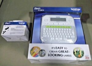 Brother P touch Pt d210 Easy Compact Label Maker 2 Lines 012502640349