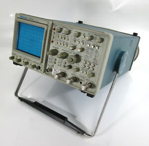 Tektronix 2465 b 4 ch 400 mhz Portable Analog Oscilloscope W Options 05