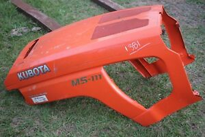 Kubota M5 111 Hood For Tractor Good Condition