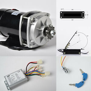 800w 36 V Dc Gear Reduction Electric Motor rev Controller foot Throttle keylock