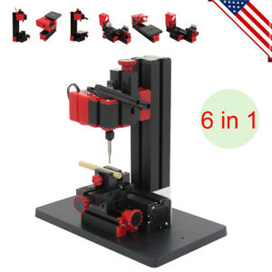 Craft Wood Hobby Cnc Lathe Motorized Jig saw Grinder Driller Milling Machine Usa
