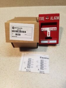 Brand New 103 20 Ge Security Fire Alarm Pull Station