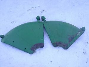 Oliver Tractor Fenders With Lights